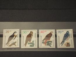 GERMANIA - 1973 UCCELLI 4 VALORI - NUOVI(++) - Bhutan