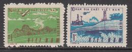 1985 Vietnam Geological Survey Oil Petroleum Complete Set Of 2 MNH - Vietnam