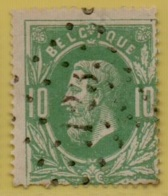 MW-4043     FARCIENNES Pts 123      OCB 30  COBA +4 - 1869-1883 Léopold II