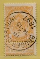 MW-4189   BRUGES STATION    OCB 54 - 1893-1907 Armoiries