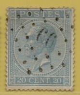 MW-4197  DOLHAIN LIMBOURG    PTS 99   OCB 18 - 1865-1866 Profile Left