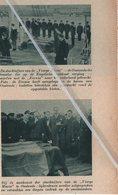 """OOSTENDE..1937..DE SLACHTOFFERS VAN DE"""" VIERGE-MARIE """"DE OOSTENDSCHE TRAWLER DIE OP DE ENGELSCHE ROTSKUST VERGING - Vieux Papiers"""