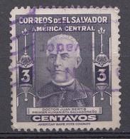 El Salvador 1947  Mi.nr: 625   Berühmte Männer  Oblitérés - Used - Gebruikt - Salvador