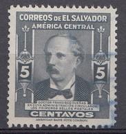 El Salvador 1947  Mi.nr: 626  Berühmte Männer  Oblitérés - Used - Gebruikt - Salvador