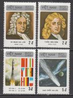 1986 Vietnam Halley's Comet Astronomy Space Complete Set Of 4 MNH - Vietnam