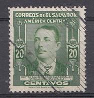 El Salvador 1947  Mi.nr: 629  Berühmte Männer  Oblitérés - Used - Gebruikt - Salvador