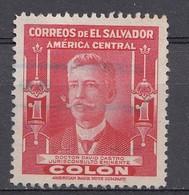El Salvador 1947  Mi.nr: 631  Berühmte Männer  Oblitérés - Used - Gebruikt - Salvador