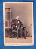 Photo Ancienne CDV Par Le Photographe Camille SILVY - 1863- Portrait Notable Anglais ? Français ? à Identifier - Anciennes (Av. 1900)