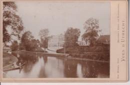VUES D'UTRECHT CAN WINSEN BRUGSMA TOLSTEEG SINGEL ZIE LINKER HOEK NEDERLAND HOLLAND 16*10CM Cabinet  Photograph - Fotos