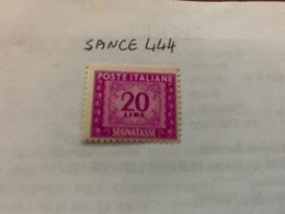 Italy Segnatasse 20L Mnh 1947 - 6. 1946-.. Republic