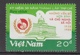 1988 Vietnam Socialism Magazine Complete Set Of 1 MNH - Vietnam
