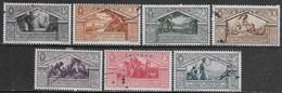 Italia Italy 1930 Eritrea Virgilio 7val Sa N.179-185 US - Eritrea
