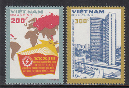 1988 Vietnam Council Of Mutual Assistance Maps  Complete Set Of 2 MNH - Vietnam