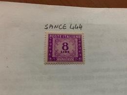 Italy Segnatasse 8L Mnh 1947 - 6. 1946-.. Republic