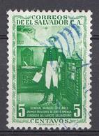 El Salvador 1954  Mi.nr: 733  Freimarken  Oblitérés - Used - Gebruikt - Salvador