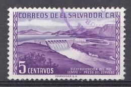 El Salvador 1954  Mi.nr: 734  Freimarken  Oblitérés - Used - Gebruikt - Salvador