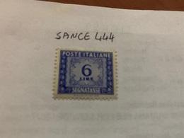 Italy Segnatasse 6L Mnh 1947 - 6. 1946-.. Republic