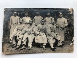 Foto Ak Soldats Blessee Francais In Stuttgart Hopital Lazarett - Guerre 1914-18