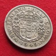New Zealand 1/2 Half Crown 1949 Nova Zelandia Nuova Zelanda Nouvelle Zelande - New Zealand
