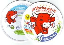 """Algérie - 1 Couvercle De Fromage + Fond De Boîte """"VQR""""  Nouveau Désign. - Fromage"""