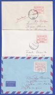 Belgien FRAMA-Sonder-ATM CONGO-ZAIRE Ohne Punkt Satz 9-13-24 Auf 3 Belegen ! - Postage Labels