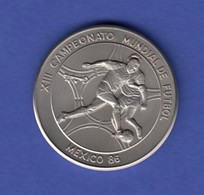 Cuba 1 Peso - Fußball Weltmeisterschaft 1986 In Mexico  - Münzen