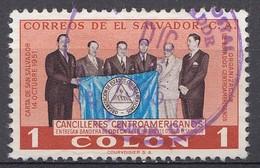El Salvador 1954  Mi.nr: 744  Freimarken  Oblitérés - Used - Gebruikt - Salvador