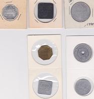 Jeton - Token - Lot De 7 JETONS DE VOORUIT - BELGIQUE - Monetary / Of Necessity