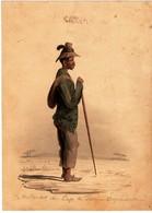 Année 1878...Représentation D'un HOTTENTOT Du Cap De Bonne Espérence.. - Dessins