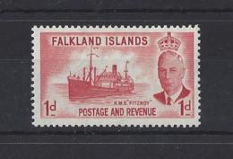 FALFLANDS Is...KING GEORGE VI.(1936-52)....1d.....SG173....MH.. - Falklandeilanden