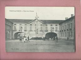CPA    -  Thaon Les Vosges  - Place De La Victoire - Thaon Les Vosges