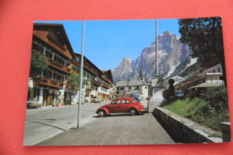 Belluno S. Vito Di Cadore 1966 + VW Maggiolino Rosso Foto Zardini - Belluno