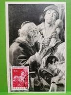 Carte Postale, Jacob Jordeans, Soo Pepen De Jonge , Timbre 1,75f Oblitéré Tournai - Autres