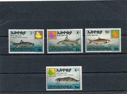 ETHIOPIA 1985 Fishes.MNH. - Ethiopie