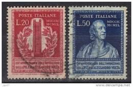 Italie N° 549-550 - 1946-60: Used