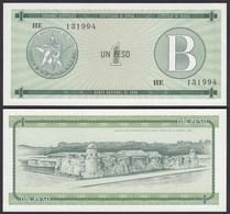 Kuba - Cuba 1 Peso Foreign Exchange Certificates 1985 Pick FX6 UNC (1)  (25713 - Bankbiljetten