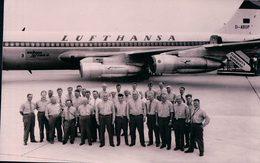 Aviation, Boeing 720 B De La Cie LUFTHANSA, Flughafen Hamburg (13.7.63) - 1946-....: Era Moderna