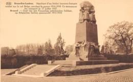 BRUXELLES-LAEKEN - Sépulture D'un Soldat Inconnu Français Tombé Sur Le Sol Belge, Pendant La Guerre 1914-1918 - Laeken