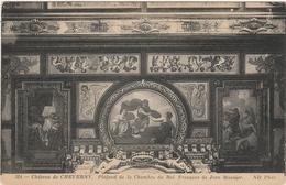 CHATEAU De CHEVERNY  - PLAFOND DE LA CHAMBRE DU ROI - FRESQUES DE JEAN MOSNIER  -  Editeur : N.D.  N° 324 - France