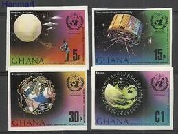 Ghana 1973 Mi 520-523B MNH ( ZS5 GHN520-523B ) - Ghana (1957-...)