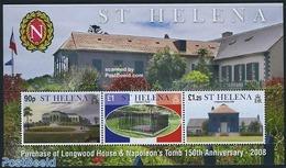 Saint Helena 2008 Napoleonic Sites S/s, (Mint NH), History - Napoleon - Napoleon