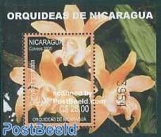 Nicaragua 2005 Orchids S/s, (Mint NH), Nature - Orchids - Flowers & Plants - Nicaragua