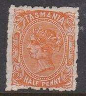 Australia-Tasmania SG 159 1889 Half Penny Orange,mint Hinged,perf 11 - Ongebruikt