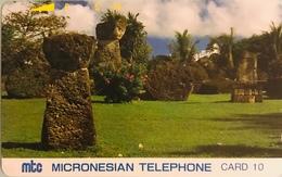 """MICRONESIE  -  Phonecard  - """" Tamura """" -  Mtc 10 - Micronésie"""