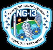 ISS Expedition 62 Cygnus Ng-13 Northrop International Space Station Embroidered Patch - Patches