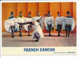 Carte ( Format 15 X 10,5 Cm ) MONTCEAU LES MINES Majorettes Girls Montceau Magimo FRENCH CANCAN ( Majorette ) - Montceau Les Mines