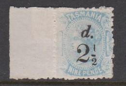 Australia-Tasmania SG 168 1891 2.5d On 9d Pale Blue,mint Hinged,perf 11.5 - 1853-1912 Tasmania