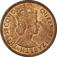 Monnaie, Etats Des Caraibes Orientales, Elizabeth II, Cent, 1955, SUP, Bronze - Territoires Britanniques Des Caraïbes