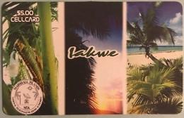 MARSHALL  -  Prepaid  -  IAKWE  -  $5.00 - Marshall Islands