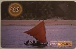 """MICRONESIE  -  Prepaid  -  """" FSMTelCARD  """"  -   $10.00 - Micronésie"""